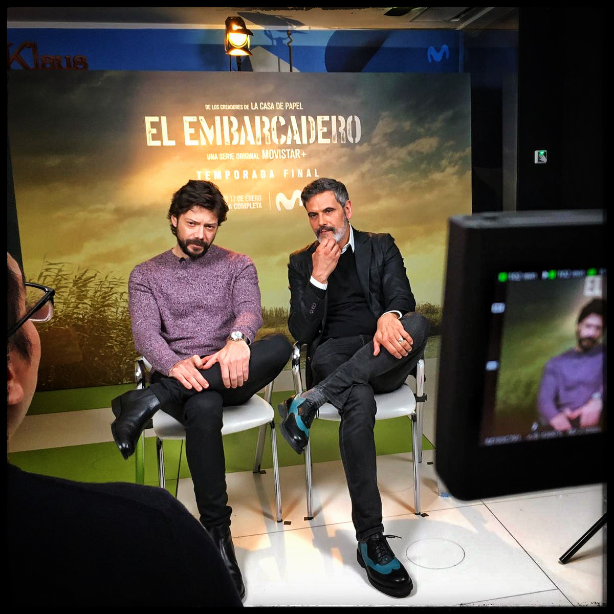 PRESS JUNKET. EL EMBARCADERO T2 (MOVISTAR+)