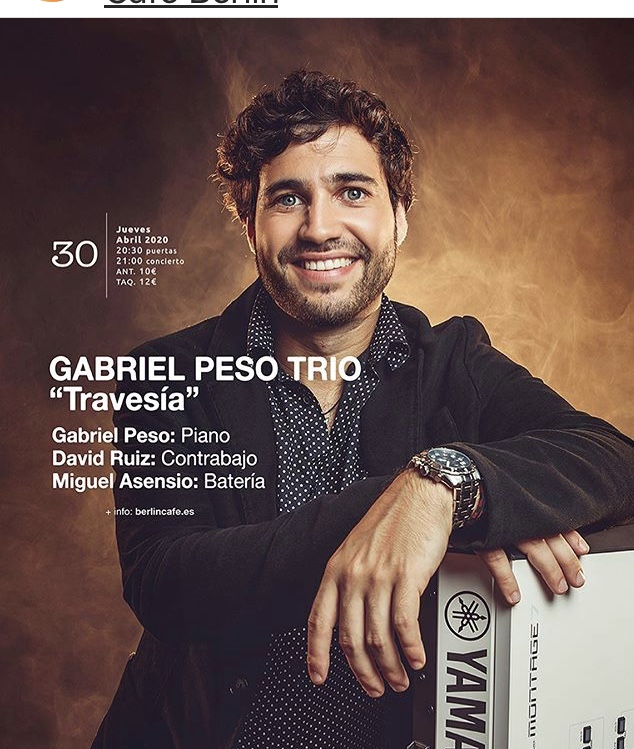 CAR POOL. GABRIEL PESO TRIO